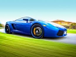 lamborghini gallardo wallpaper blue