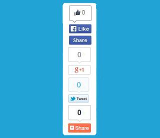 Floating Social Media Sharing
