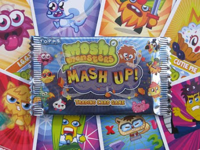 Moshi Monsters Mash Up cards in stores now!