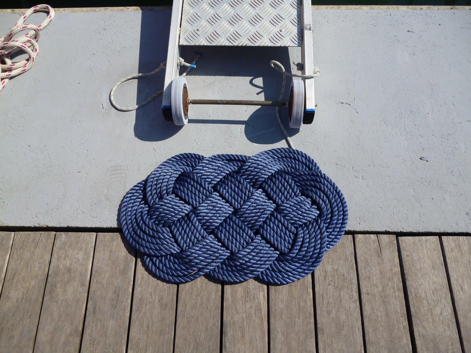 Eudaimonia - Blog di vela e di un sogno da realizzare: Stuoie in corda
