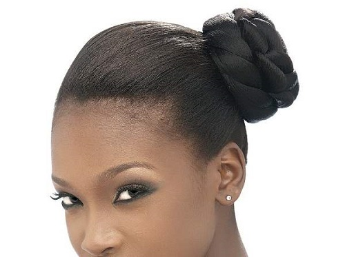 Bun Hairstyles for African American Women