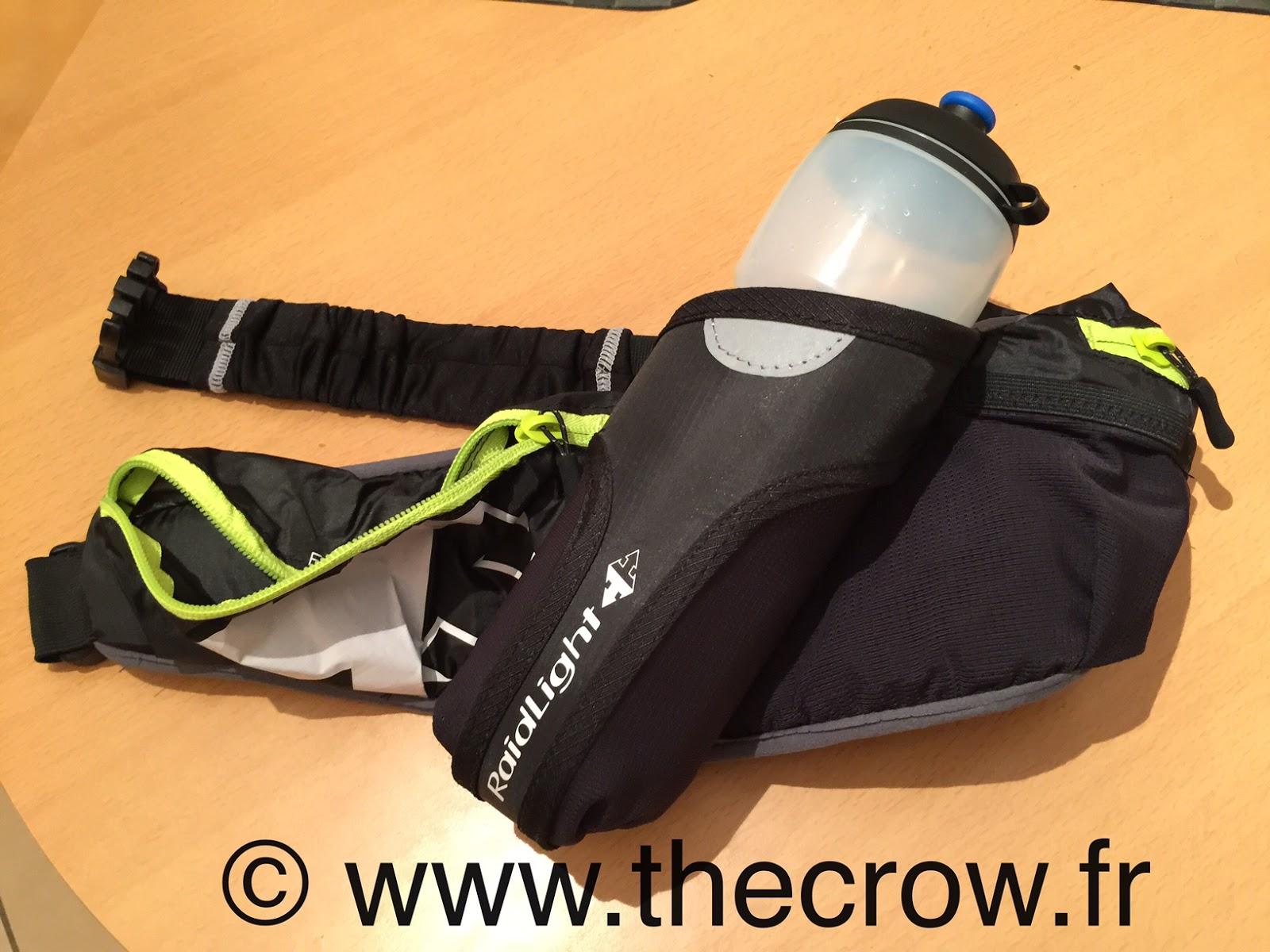 The Crow Tests Sports Et Technologies Le Test De La Raidlight - Ceinture porte bidon