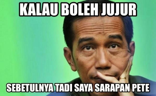Gambar Meme Jokowi Galau Lucu Terbaru DP PP BBM