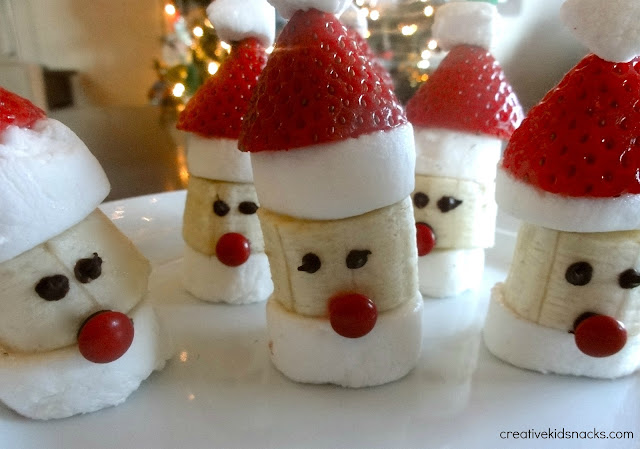 Santa Party Poppers by Creative Kid Snacks
