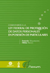 "Libro ""Comentarios a la Ley Federal de Proteccin de Datos Personales en Posesin de Particulares"""