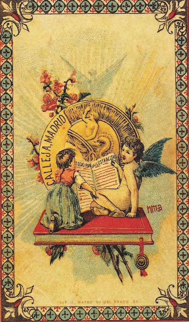 ilustración vintage Saturnino Calleja