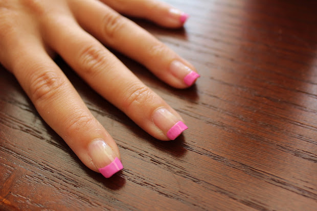 simple nail art newbies black
