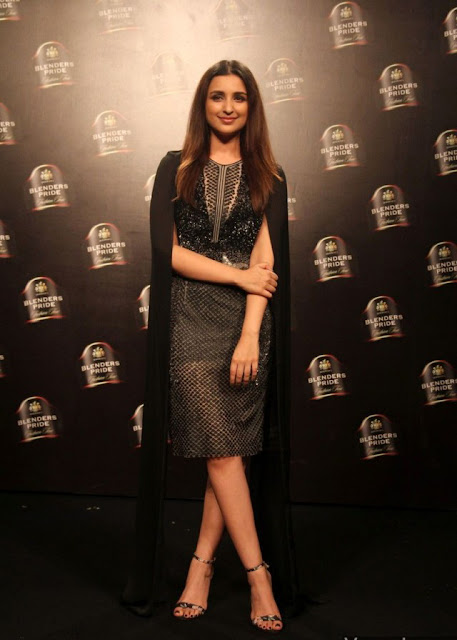 Parineeti Chopra showstopper for designers Rohit Gandhi and Rahul Khanna at Blenders Pride Fashion Tour