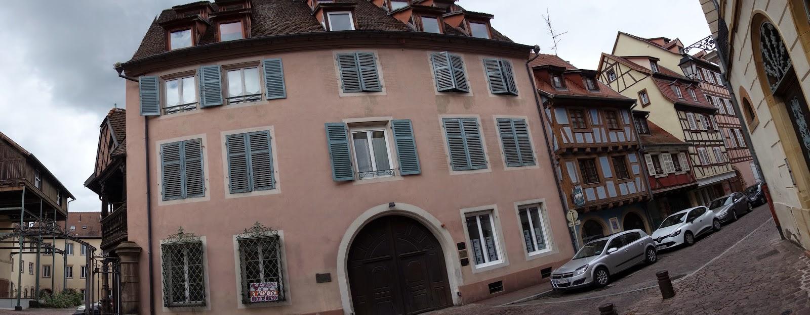 Кольмар - дом Вольтера