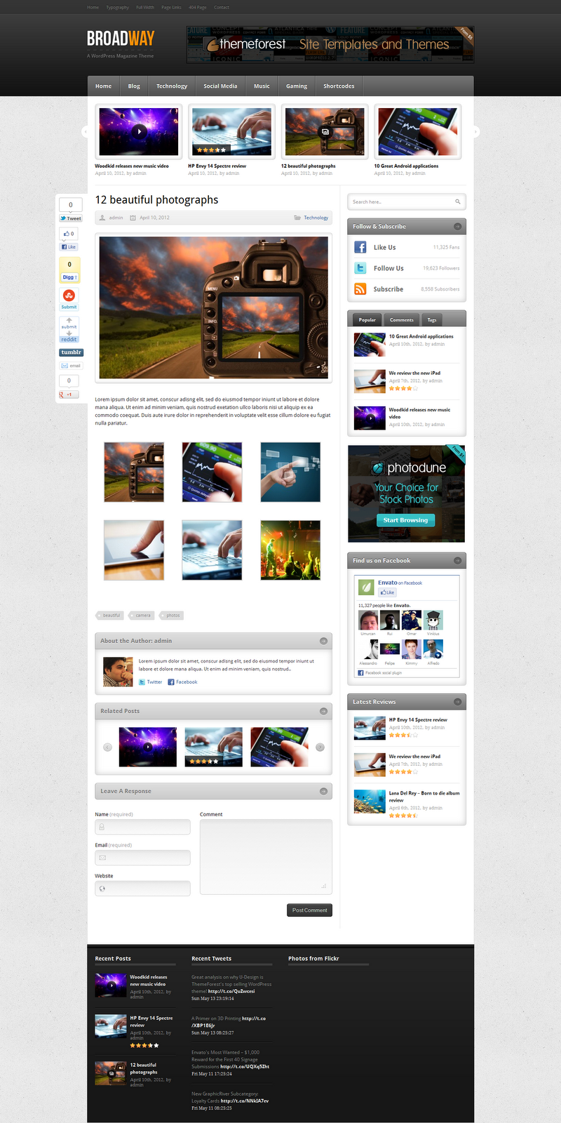 BroadWay-Wordpress-premium-Theme