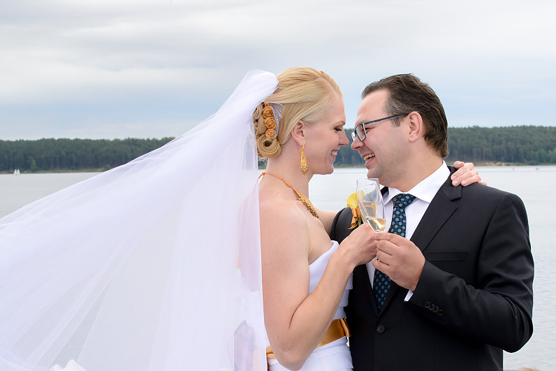 """Vestuvių fotosesija laive """"Algirdas"""""""