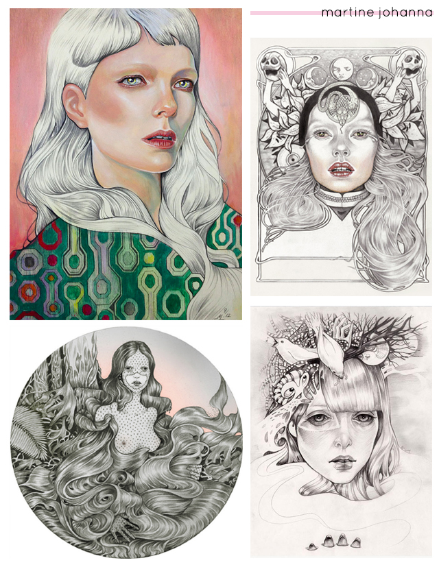 paintings by martine johanna