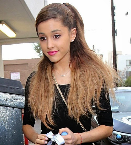 Check this best celebrity with wigs and hair extensions your ariana grande extension hair pmusecretfo Images