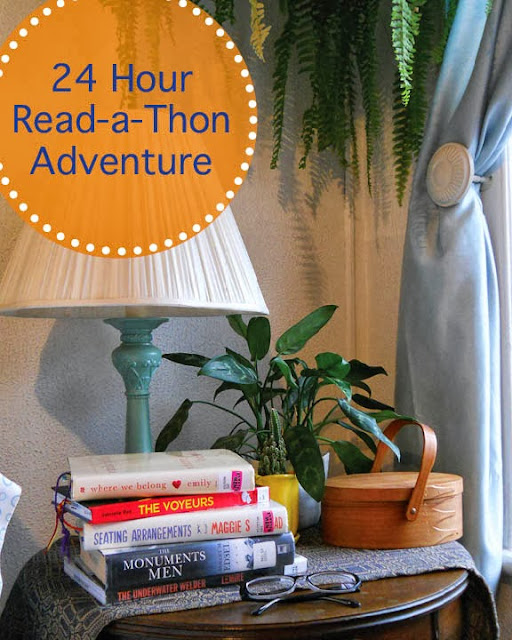 24 Hour Read-a-Thon Adventure Reading List!