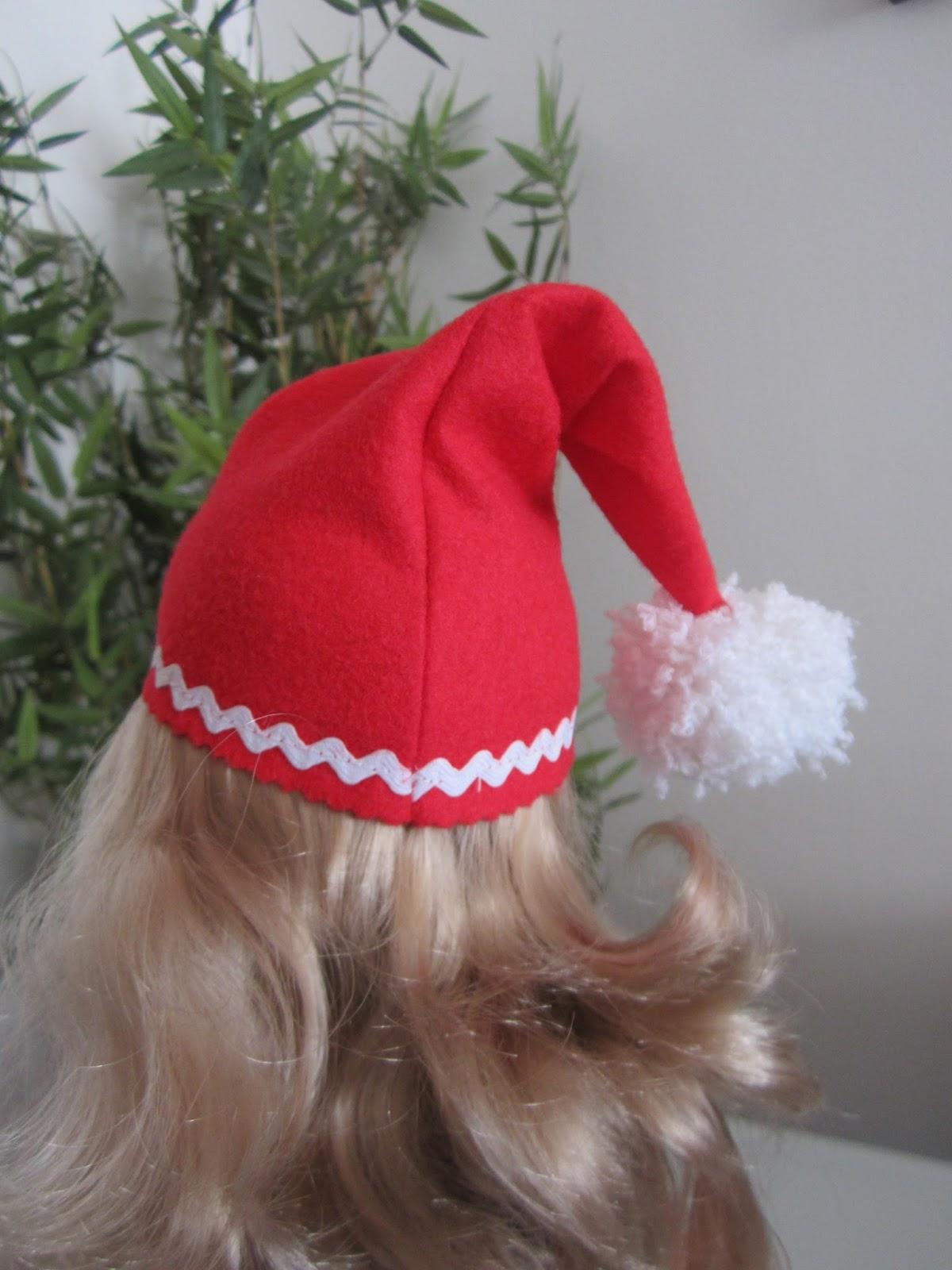 mis nancys, mis peques y yo, disfraz navidad nancy sombrero