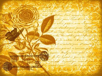 fondo vintage flores, mariposa y letras