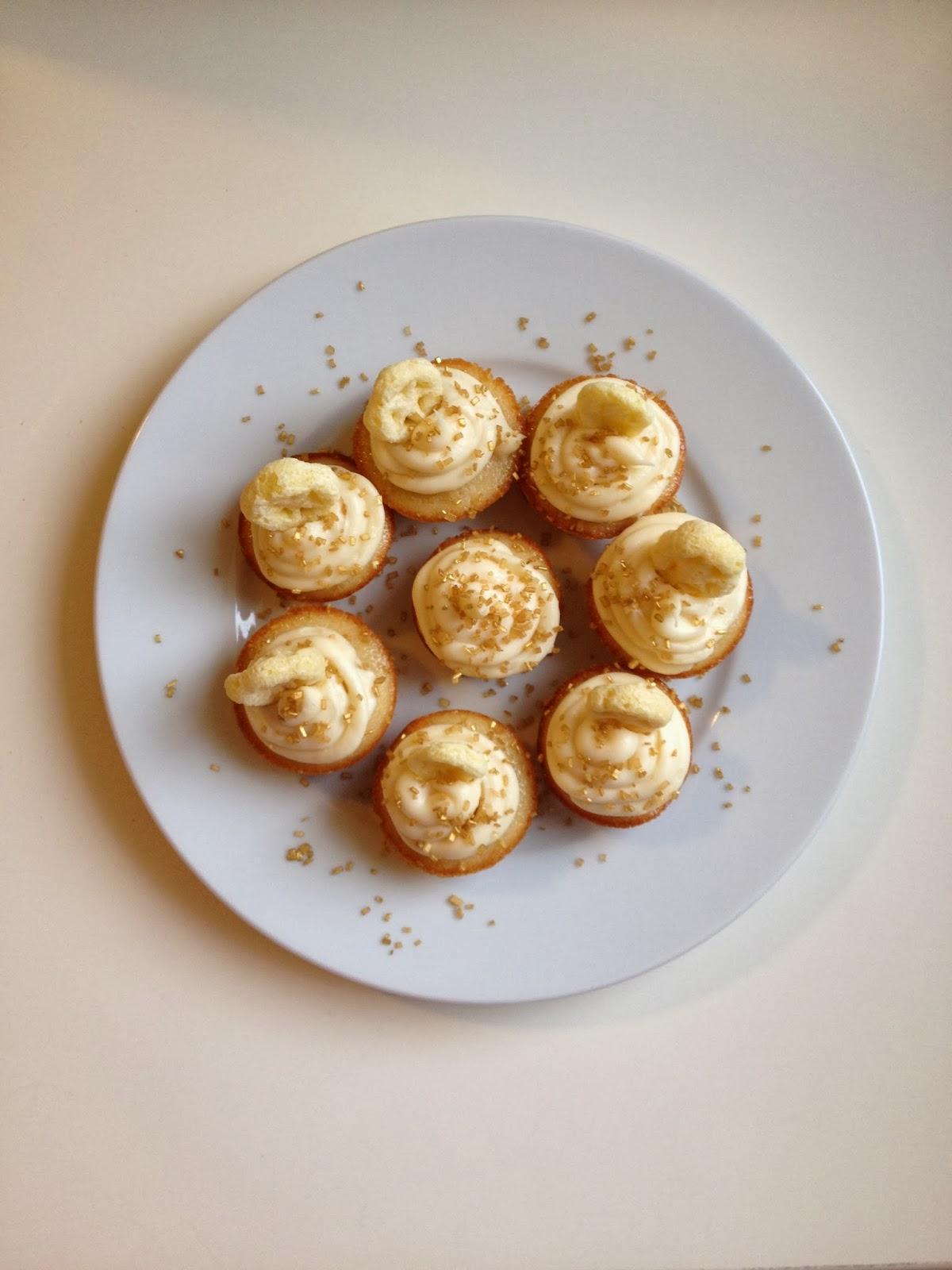 Honey + Vanilla Cupcakes Stress Baking