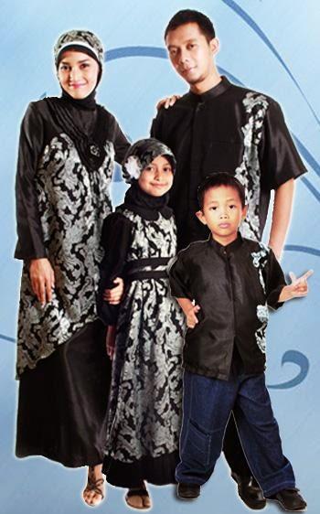 Trend model gambar foto baju lebaran keluarga terbaru 2015