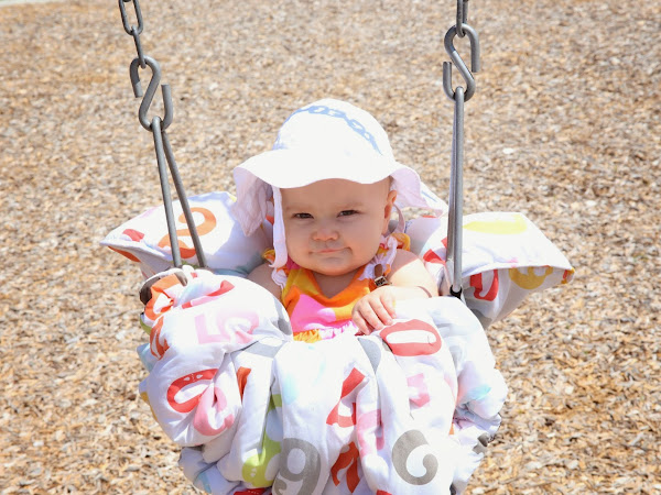 Swings are a baby's best friend