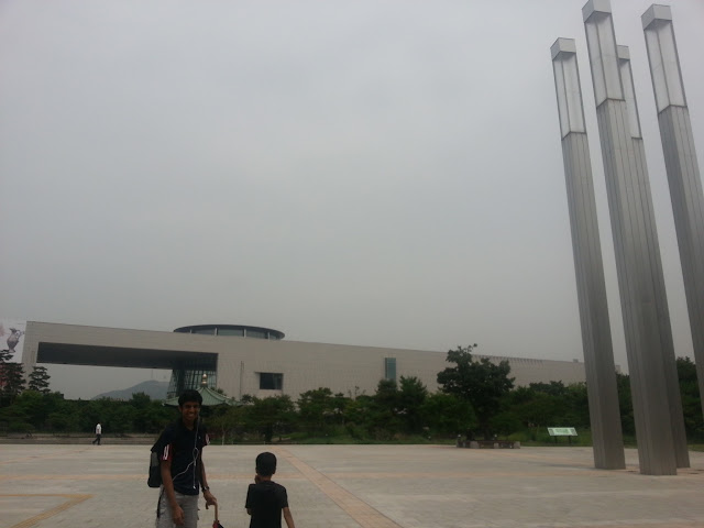 Entrance of the National Museum of Korea