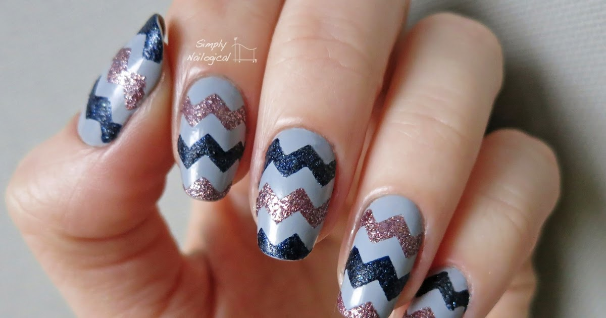 Line Texture On Nails : Simply nailogical textured chevrons