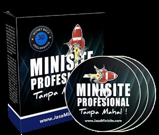 Minisite Blogspot Responsive