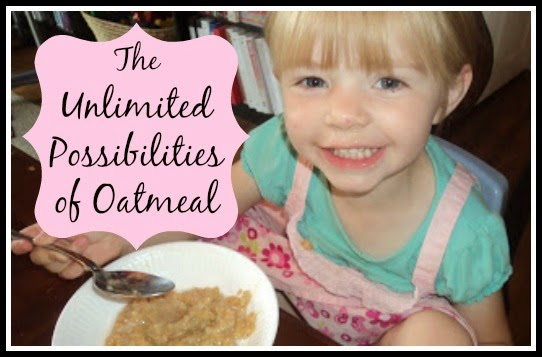 UNLIMITED POSSIBILITIES OF OATMEAL with RECIPES