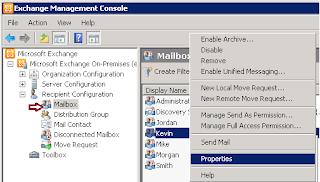 How to Grant Send on Behalf Permission using EMC