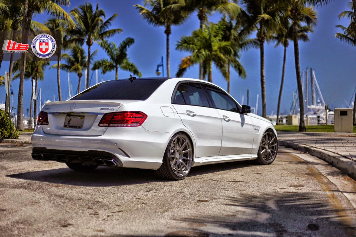 Mercedes Benz W212 E63 Amg On Hre Wheels Benztuning