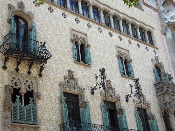 barcelone eixample balade passeig de gracia casa amatler