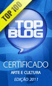 CERTIFICADO 2011 -Prêmio Top Blog
