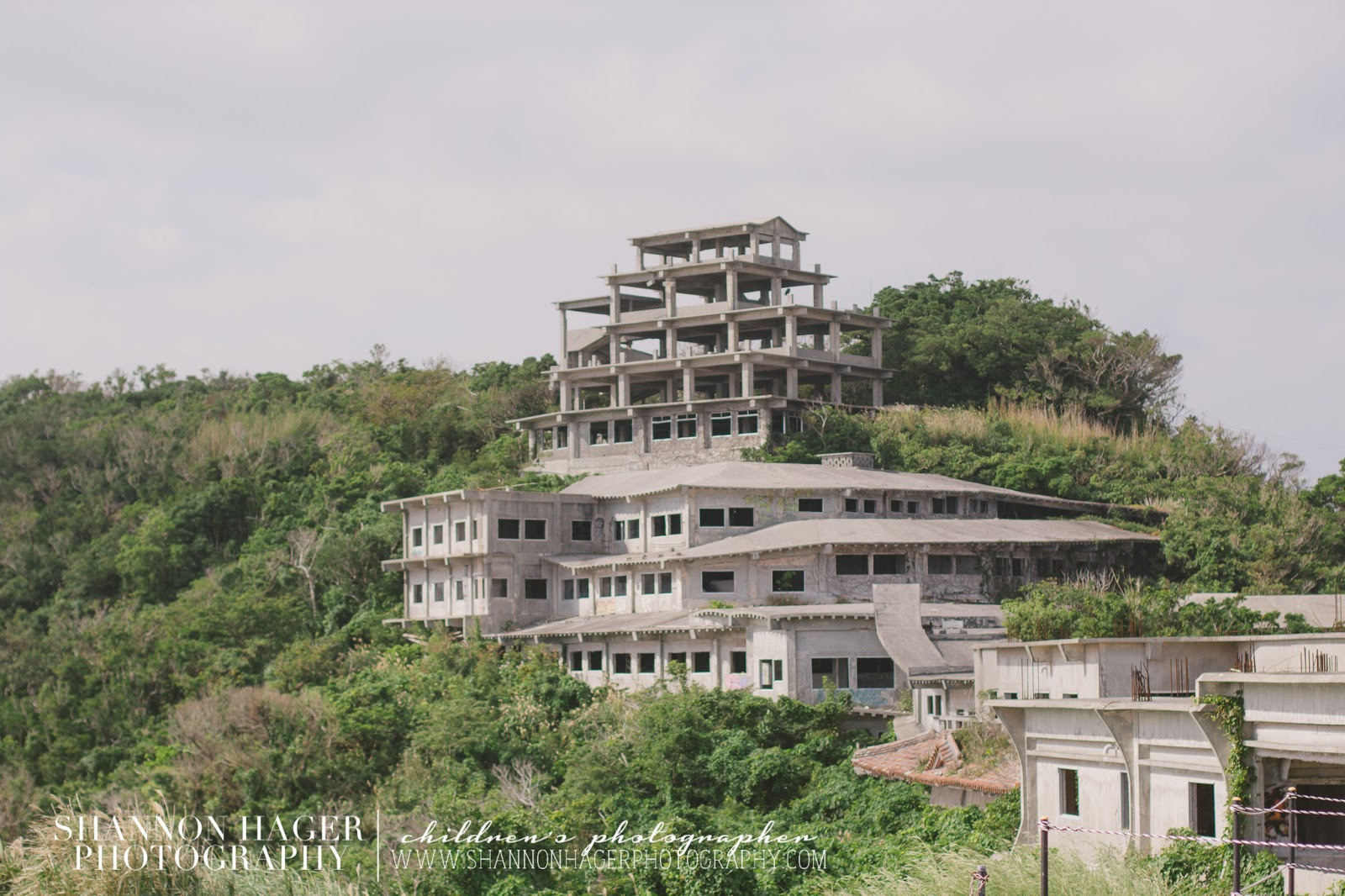 Abandoned Hotel Okinawa by Shannon Hager Photography, Portland Photographer