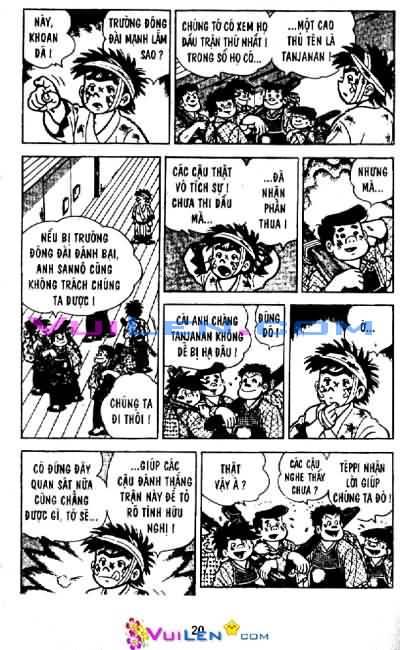 Siêu quậy Teppi chap 29 - Trang 20