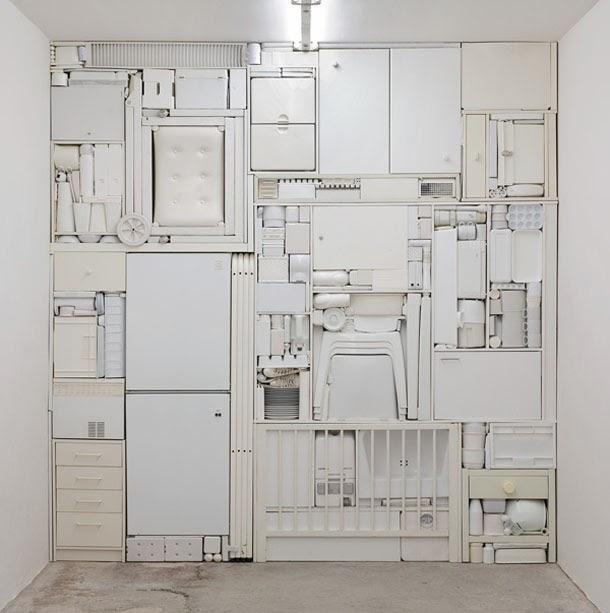 objectos subjectivos - escultura de Michael Johansson