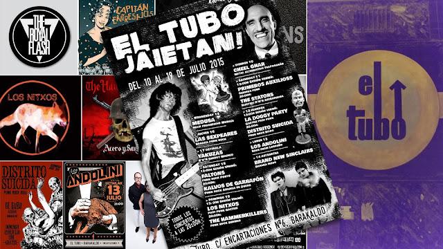 El Tubo programa 14 bandas punk rock durante las fiestas del Carmen