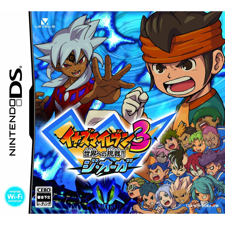 Inazuma Eleven Juegos De Nintendo Ds