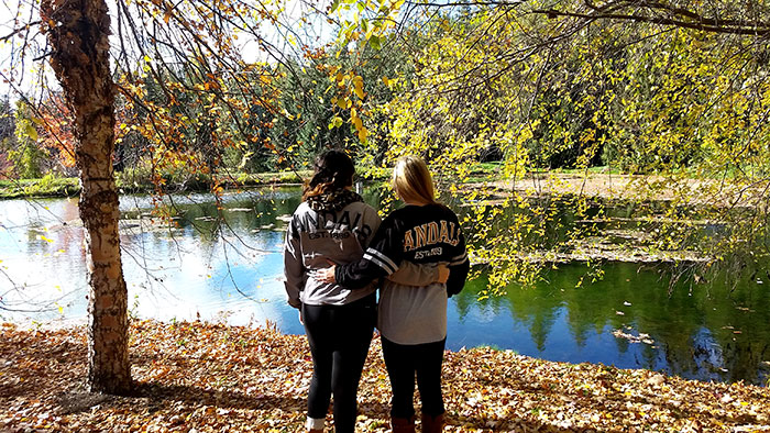 Fall in University of Idaho's Arboretum