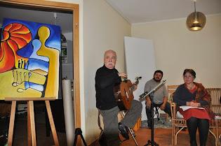 Konzert und Lesung in der Kommunität Grimnitz e.V. -18.Oktober 2014