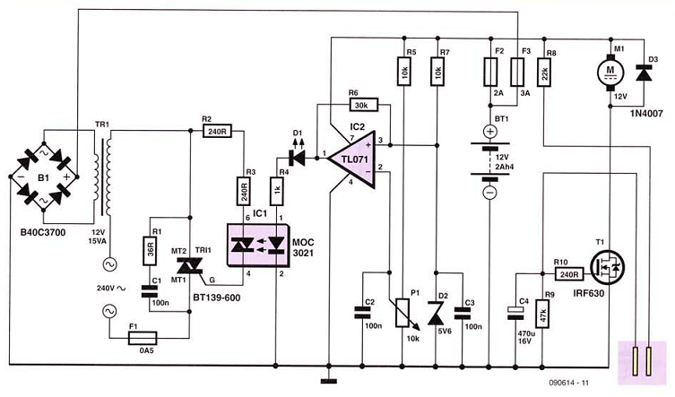 Pump Circuit Diagram