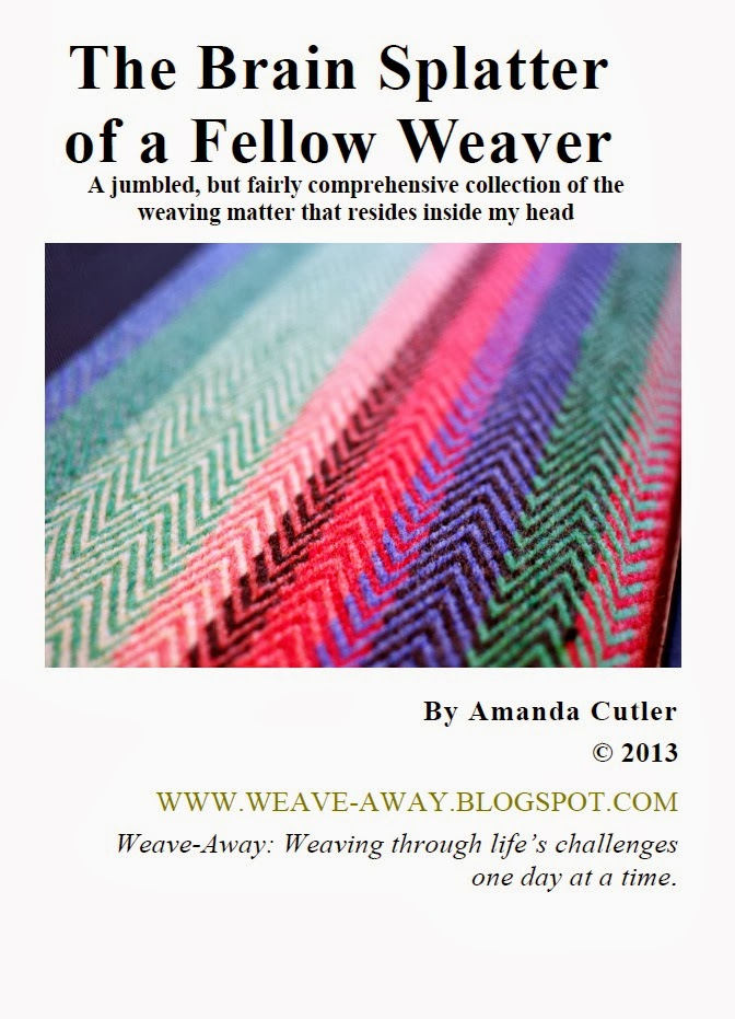 My weaving book!!!