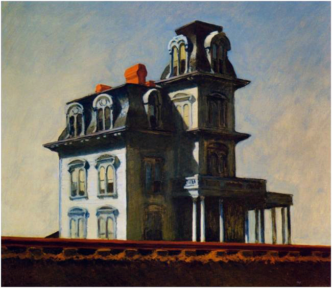 Hopper plan americain cartlotta - Edward hopper maison ...