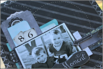 Live in the Moment featuring 49 Shades of Grey collection by Quick Quotes designed by Rhonda Van Ginkel