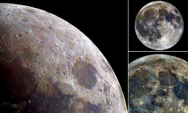 Now That Is A Super Moon! Images Made Of 32,000 Photographs Shows Lunar Surface In Brilliant Detail