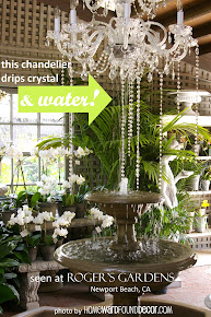 CHANDELIER FOUNTAIN!