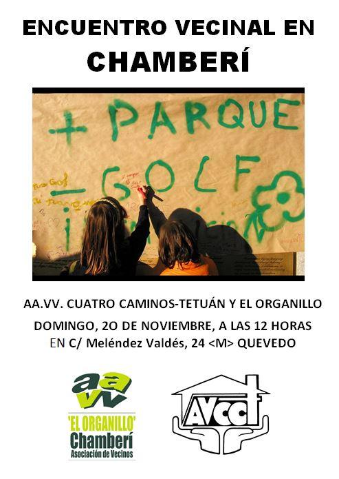 20 noviembre Enlazando Barrios