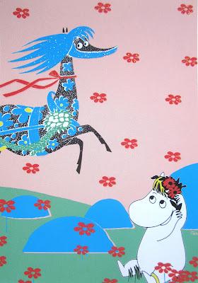 snork maiden moomin card