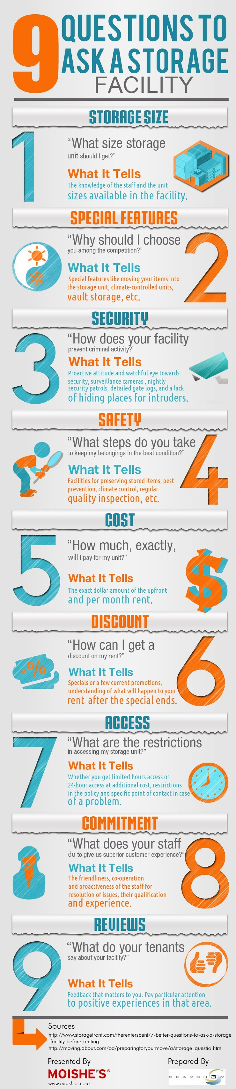 Infographic: 9 Questions To Ask A Storage Facility
