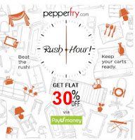 ( Live )Pepperfry : Pepperfry Extra 30% off on Rs. 500 & Extra upto Rs. 500 off