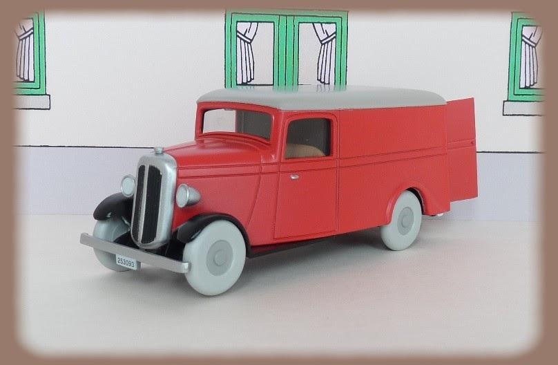 Garage de poche tintin la camionnette n 65 for Garage citroen la fleche