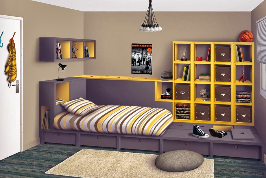 Idee Chambre Ado New York